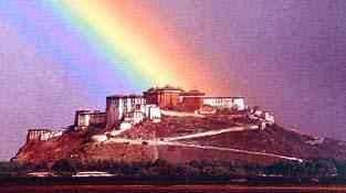 Templo Potala del Tibet