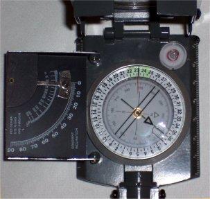 Brújula disco magnetico