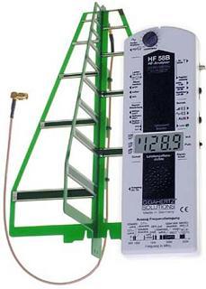 Medidor de alta frecuencia (Wifi, Dect, télefonia movil, etc.)