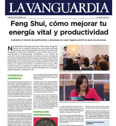 Entrevista feng shui la vanguardia sep 17