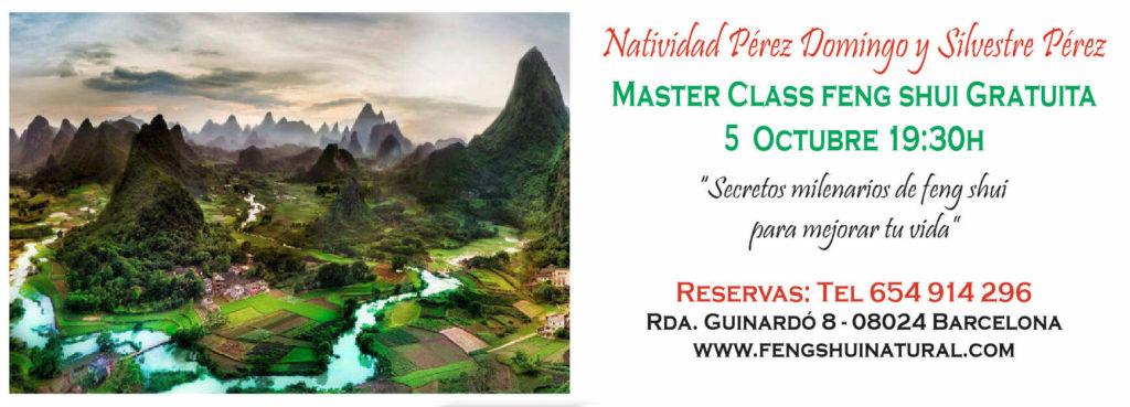 Master Class Feng Shui 5 octubre 2017