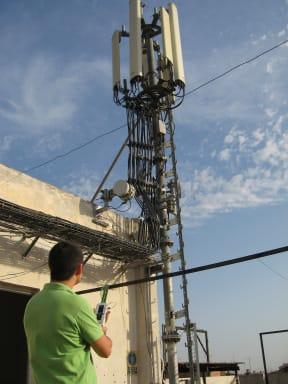 Medición antena telefonía móvil